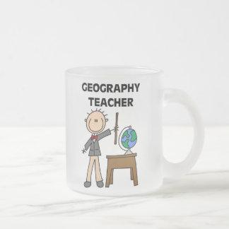 Tasse Givré Professeur de géographie