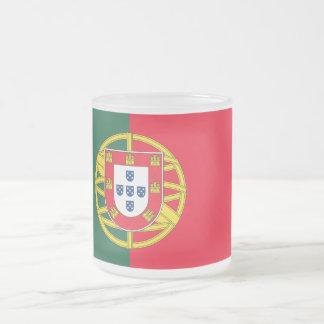 Tasse Givré Qualité de drapeau du Portugal