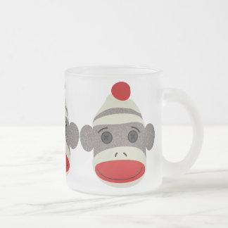 Tasse Givré Visage de singe de chaussette