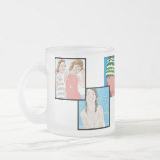 Tasse givrée personnalisable d'Instagram 6-Photo