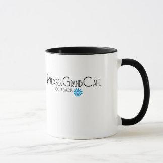 Tasse grande maigre de café