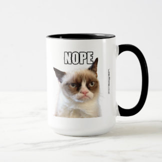 Tasse grincheuse de Cat™ NOPE