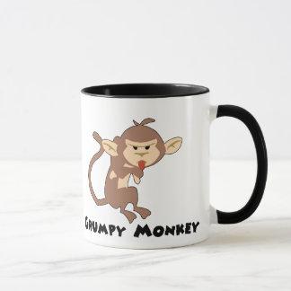 Tasse grincheuse de singe