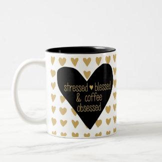 Tasse hantée par café bénie soumise à une