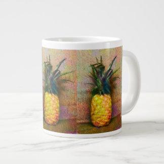 Tasse hawaïenne fraîche d'éléphant d'ananas