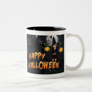 Tasse heureuse de Halloween Skye