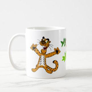 tasse heureuse de tigre
