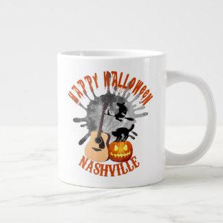Tasse heureuse d'éléphant de Halloween Nashville