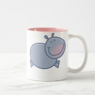Tasse heureuse d'hippopotame