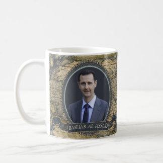 Tasse historique d'Assad d'Al de Bashar