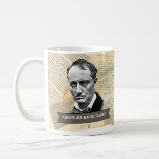 Tasse historique de Charles Baudelaire