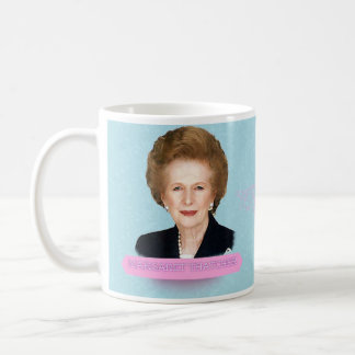 Tasse historique de Margaret Thatcher