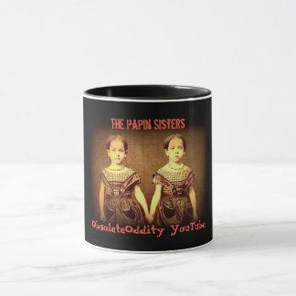 Tasse historique de soeurs de Papin de _des