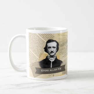 Tasse historique d'Edgar Allan Poe