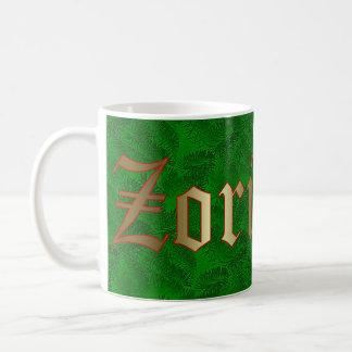 Tasse impeccable rouge de Noël Basque et verte