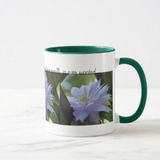 Tasse inspirée de citation de gentillesse de fleur