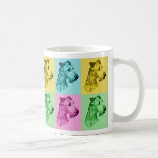 "Tasse irlandais terriers «pop-art """