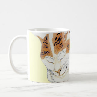 Tasse japonaise de cadeau de citation de chat de