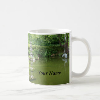 Tasse japonaise de l'étang #2 de jardin de thé de