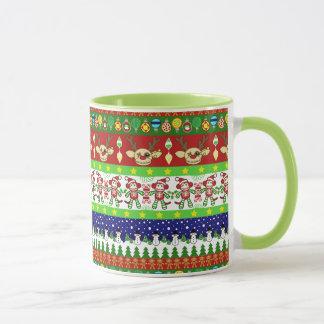 Tasse laide de chandail de Noël