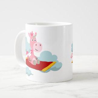 Tasse magique d'éléphant de tour du tapis de la mug jumbo