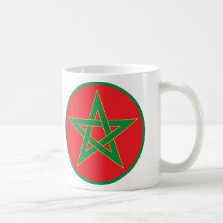 Tasse marocaine de drapeau