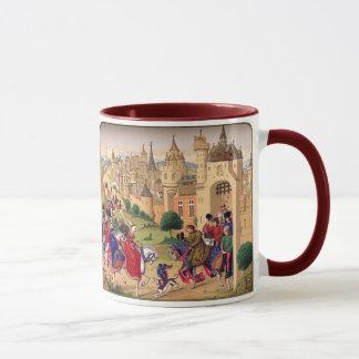 Tasse médiévale d'art
