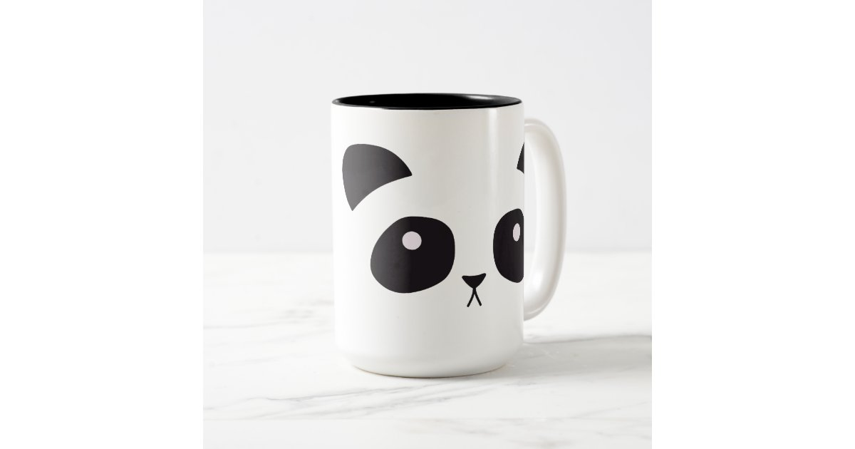 tasse mignonne de panda. Black Bedroom Furniture Sets. Home Design Ideas