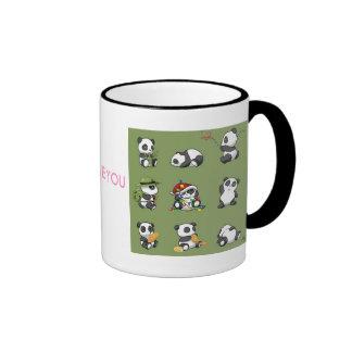 Tasse mignonne de panda