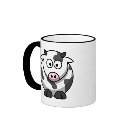 Tasse mignonne de vache
