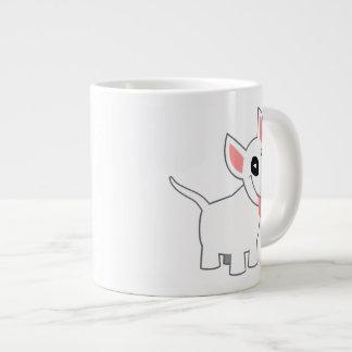 Tasse mignonne d'éléphant de bull-terrier de bande mug jumbo