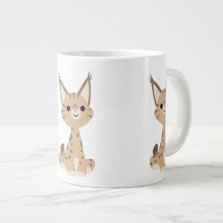 Tasse mignonne d'éléphant de Lynx de bande Mug Jumbo