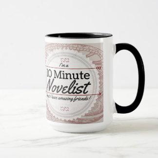 Tasse minute du romancier 10