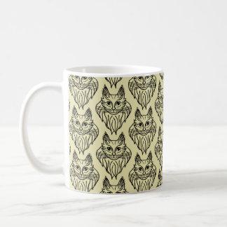 Tasse modelée par ragondin du Maine