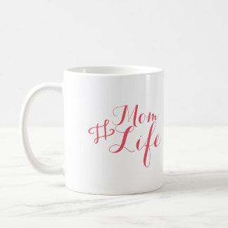 Tasse moderne de la vie de maman
