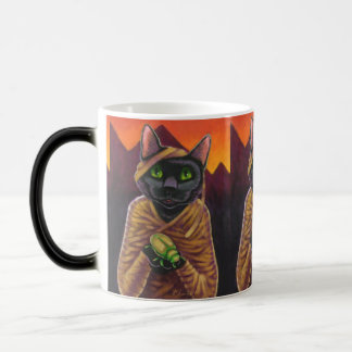 Tasse Morphing magique de chat de vampire