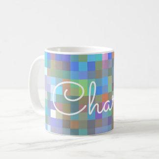 Tasse multicolore personnalisée