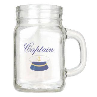 Tasse nautique de pot de capitaine maçon avec Hat