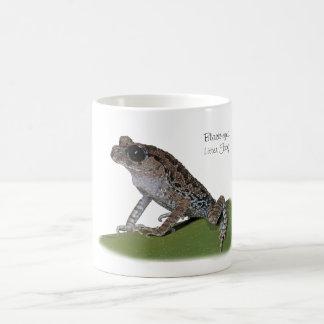 tasse Noir-eyed de grenouille d'ordures