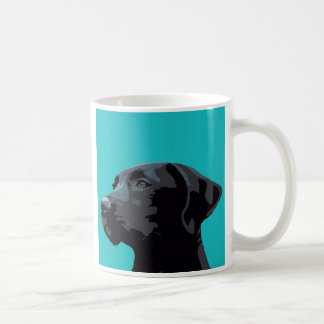 Tasse noire de Labrador