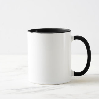 Tasse noire et blanche de SiSiPanda