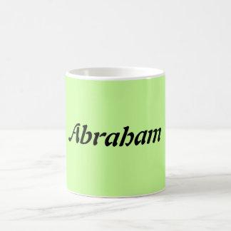 Tasse nommée d'Abraham