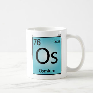 Tasse (Os) d'élément d'osmium