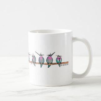 Tasse paranoïde de colibri