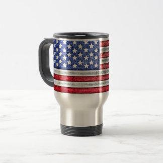 Tasse patriotique de voyage
