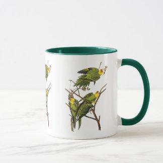 Tasse : Perruche - par John Audubon