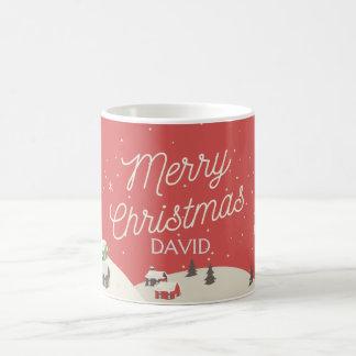 Tasse personnalisable de Noël