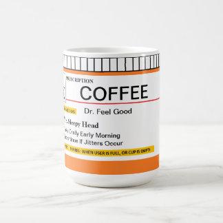 Tasse personnalisable de prescription