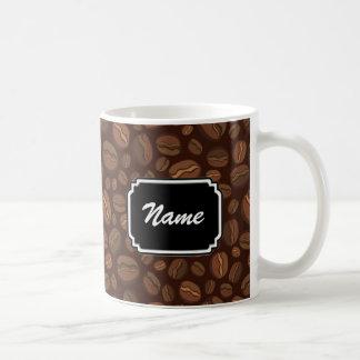 Tasse personnalisée de grain de café