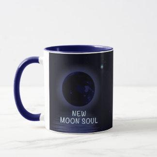 Tasse personnalisée de phase de nouvelle lune